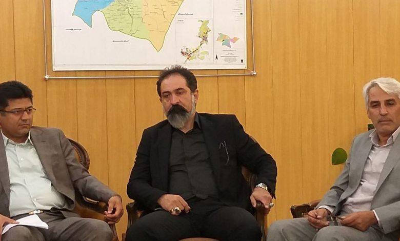 محمود یوسفی مدیر کل غله و خدمات بازرگانی استان تهران (2)