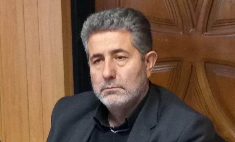 البرز سعیدی رئیس شورای اسلامی بخش رودهن