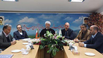 تصویر از برگزاری مراسم تودیع و معارفه مسؤل بازرسی شهرداری آبسرد