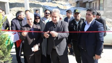 تصویر از همزمان با سومین روز از دهه مبارک فجر انجام شد؛  افتتاح پارک بازی و بوستان شهرک پونا در رودهن