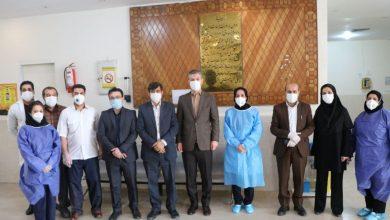 تصویر از بازدید سرپرست فرمانداری شهرستان دماوند از درمانگاه حضرت محمد(ص) رودهن