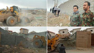 تصویر از رفع تصرف بیش از ۱۰ هکتار از اراضی ملی روستای نوده بخش رودهن