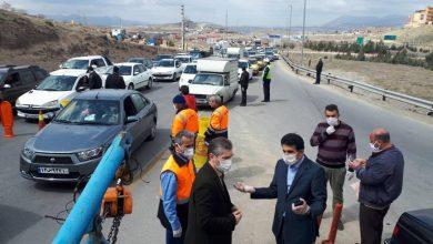 تصویر از اجرای طرح اعمال محدودیت تردد خودروها در محور تهران – دماوند محدوده سه راهی مهرآباد