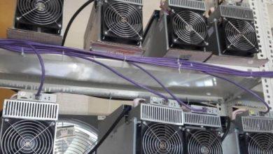 تصویر از کشف ۳۴ دستگاه ماینر بیت کوین در شهر کیلان و روستای جابان