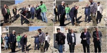 تصویر از مراسم گرامیداشت هفته منابع طبيعی و روز درختكاری در شهر رودهن