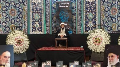 تصویر از مراسم ختم درگذشتگان ایام کرونایی در مسجد جامع دماوند