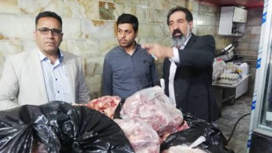 تصویر از کشف یک تن مواد غذایی فاسد در گشت مشترک تعزیرات حکومتی دماوند