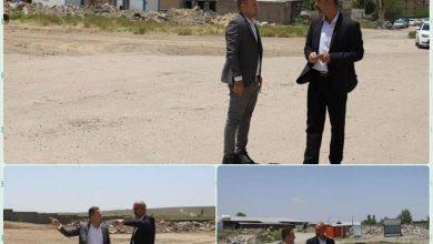 تصویر از بررسی وضعیت احداث مجموعه ورزشی و زمین چمن مصنوعی در یک قطعه زمین وقفی در َشهر آبسرد