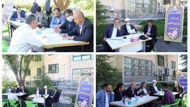 تصویر از ملاقات مردمی شهردار و شورای اسلامی شهر آبسرد در محوطه شهرداری با رعایت پروتکلهای بهداشتی