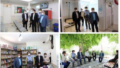تصویر از پیگیری ارتقاء چارت درمانی مرکز خدمات جامع سلامت شهید محسنی شهر آبسرد