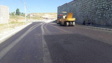 تصویر از اجرای پروژه جدولگذاری، زیرسازی و آسفالت خیابان مواصلاتی فجر به مسکن مهر دماوند