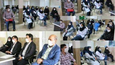 """تصویر از """"آزاده نوروز قزوینی"""" بهعنوان سرپرست جدید مرکز خدمات جامع سلامت شهر آبسرد معرفی شد"""