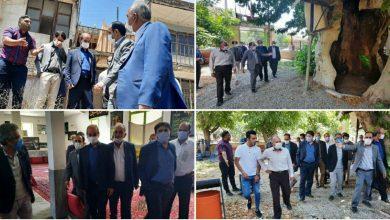 تصویر از بازدید مسئولان شهرستان دماوند از محله ساران شهر کیلان
