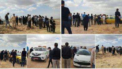 تصویر از ماجرای حواشی یک تجمع مردمی از سوی اهالی روستای اهران دماوند جهت ادعای مالکیت اراضی دولتی پلاک دِهن