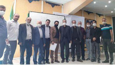 تصویر از برگزاری انتخابات نماینده مدیران در هیات حل اختلاف شهرستان دماوند