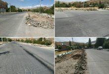 تصویر از عدم امکان حفاری به دلیل عمق کم خط لوله گاز شهری، علت توقف در اجرای پروژه بلوار کردر شهر کیلان