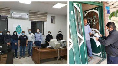 تصویر از توزیع بیش از ۶۰۰۰ هزار فیش عوارض نوسازی در شهر آبسرد