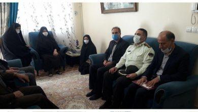 تصویر از دیدار مسئولان با 3 خانواده معظم شهید ورزشکار در دماوند