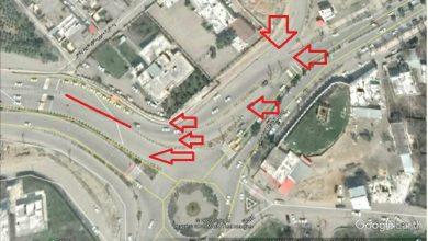 تصویر از انتقاد شهروندی نسبت به خطرات تقاطعهای ورودی بلوار ۶۰ متری بعثت منطقه گیلاوند