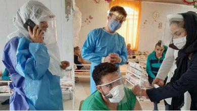 تصویر از واکسینه شدن ۲۳۷ نفر از مددجویان مستقر در مراکز توانبخشی شهرستان دماوند مقابل آنفولانزا